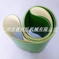 prieto供应生产线常用1-6mm绿色平面PVC环形输送带 质优 维护容易