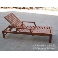 厂家直销户外休闲实木沙滩椅(图)、欢迎来电洽淡,款式多样