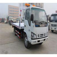 汉中国四平板拖车批发