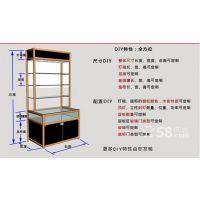 广西钛合金玻璃展柜,精品展柜,珠宝柜台,仓储货架 挂件展示柜