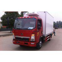 【厂家直销】重汽豪沃7.6米冷藏车报价,重汽T5G冷藏车