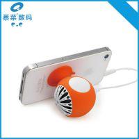 厂家直销创意迷你便携插线小音箱 手机专用型吸盘小音响