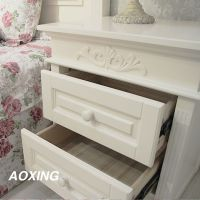经典欧式床头柜储物柜收纳柜简约床头柜斗柜个性床头柜小型床头