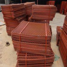 钢板脚踏网 建筑工地菱形网 最专业生产建筑钢笆片厂