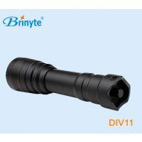 厂家直销 Brinyte DIV11 户外潜水手电cree 强光手电筒磁控开关