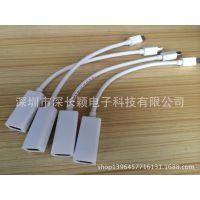高清苹果mini DP转HDMI转接线 迷你DP 雷电接口 会议室必备