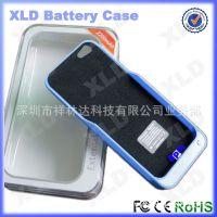 创意正品苹果iphone5/45备用电池 超薄磨砂手机壳电池背夹电池