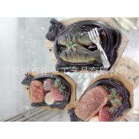 深圳厂家 订做仿真食品鱼挂件  仿真铁板鱼模型  仿真鱼手机吊饰
