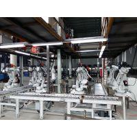 自行车车架自动焊接生产线、电瓶车车架焊接生产线、自行车车架焊接机械手配套生产线、 全自动焊接生产线