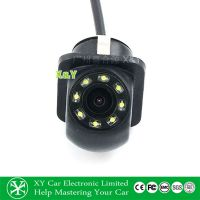 源喜LED灯倒车摄像头 小草帽带灯摄像头工厂后视摄像头XY-1699