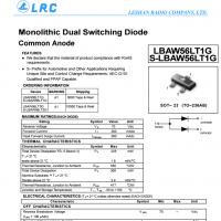LRC开关二极管 LBAW56LT1G LBAW56LT1G