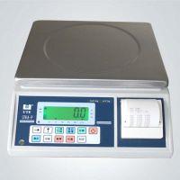 打印带报警电子秤 30公斤打印电子秤 高精度计重打印桌称