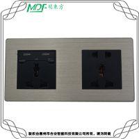 mouton 武汉唯意智能墙壁触摸开关插 书桌插座 五孔+USB两连体