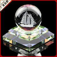 专利正品 水晶球香水座 高档时尚创意礼品 LOGO定制 汽车香水摆件