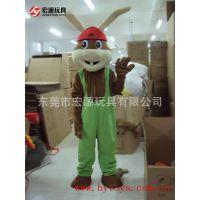 宏源卡通人偶服装 大型促销活动专用 人偶大型玩偶道具表演服饰