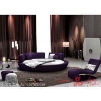 生产销售一品红D707圆形电动床 酒店专用电动床