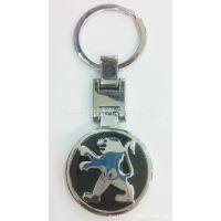 礼物韩国创意男士标致汽车车标镂空钥匙扣钥匙链挂件批发