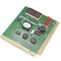 4位多芯片诊断卡电脑检测卡 PCI诊断卡主板故障检测卡带说明书