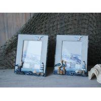 海洋系列家居装饰相框 地中海风格木质像框架 创意相架家饰工艺品