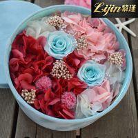 高端保鲜花创意工艺礼品永生花礼盒 情人节圣诞生日礼物 七彩时光