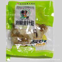 贵州特产桫椤妹泡椒金针菇20斤 1箱 散装休闲食品批发商
