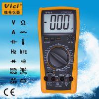 维希Vici VC9805A+ 3位半带电感测量手动万用表 电容测量2000μF