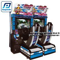 头文字D5代电玩设备 全新32寸赛车游戏机 儿童投币游戏机 电玩城游戏机