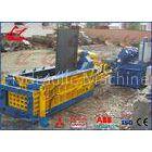1350kN Force Scrap Metal Baler Scrap Bundle Machine Front Out Type