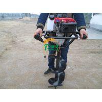 冬天冻土挖坑机 强劲动力螺旋钻眼机 润华销售