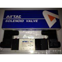 台湾AIRTAC电磁阀亚德客气动阀4V110-06 DC24V 4V210-08