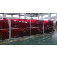 焊接防护屏厂家直销 JH-FHP001 高藤 多用在车间内电焊工作区域