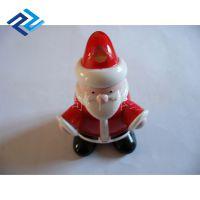 混批供应 圣诞老人卡通公仔塑料玩具喷涂加工