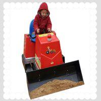 六月底大促销儿童游乐设备推土机质量保证质保一年