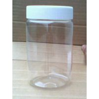 350ML透明圆形塑料瓶  化工瓶 透明塑料药瓶