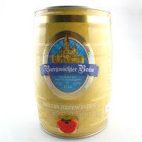 德国批发团购 勃朗原浆小麦白啤酒5L桶装 深圳总代理品种多价格优