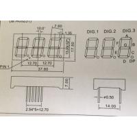 XDK-5321AS/5302BS 单色高亮数码管 5321AB/5302B三位数码管
