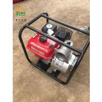 润华排灌专用抽水泵 农用汽油排水泵 大扬程汽动自吸泵