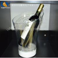 专业批发供应 KTV专用香槟桶 酒吧香槟桶 白色塑料香槟桶