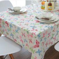 锦瑟 田园桌布布艺沙发 窗帘 靠垫 家居装饰布料花型三色可选