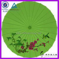 中国民族文化花鸟装饰油纸伞,优质手工工艺伞