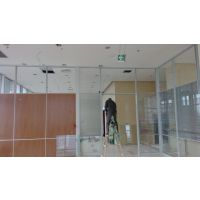 成都办公隔断、玻璃高隔断,百叶、清波