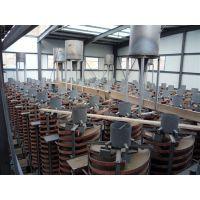 江西龙达重力选矿设备 玻璃钢螺旋溜槽沙金提取设备