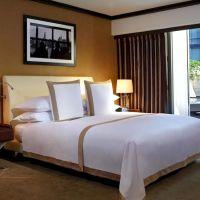 厂家直销简欧双人软床 酒店成人板式套房家具 酒店家具工程定制