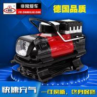 便携式汽车用轮胎打气泵v迷你电动胎压计加气充气机 车载充气泵