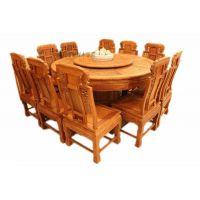 帝豪红木刺猬紫檀1.6米圆桌