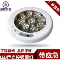声控吸顶灯led_厂家直销led声控吸顶灯_声控吸顶灯22W