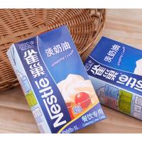 供应烘焙原料 雀巢淡奶油 动物性鲜奶油 蛋糕蛋挞原料 裱花奶油 甜品原料 1L*12盒/箱