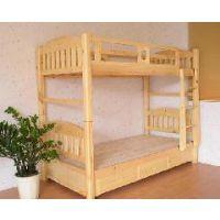 成都学生床 上下床 实木公寓床定制厂家 贝贝乐家具供应