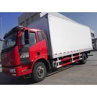 青驰牌长春解放J6 8.6米干货厢价格 厂家
