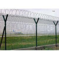 千恩机场护栏网厂家定做公共场所防护网#机场围栏网规格#防护网围栏价格